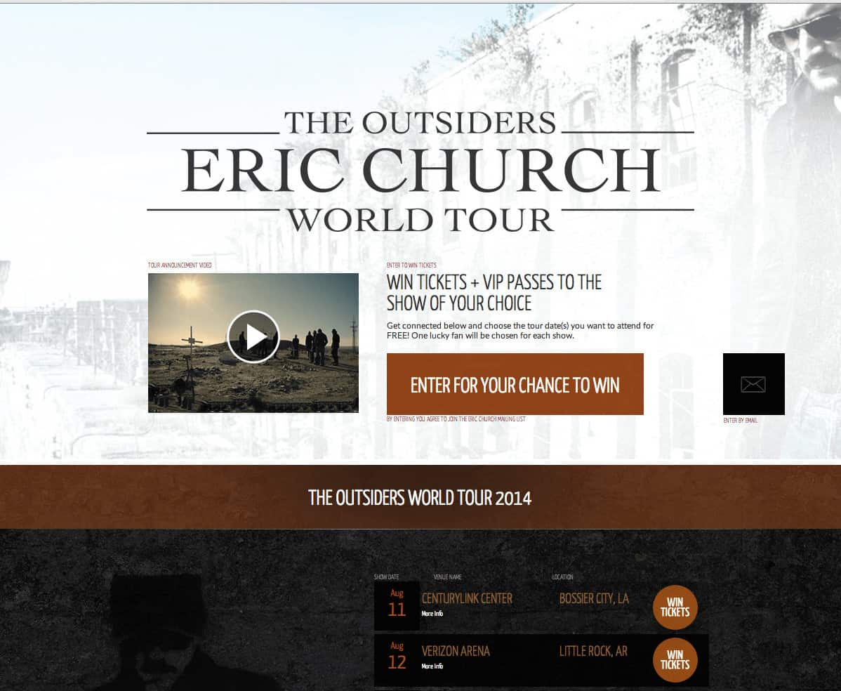 UMG / Eric Church: The Outsiders